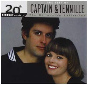Captain-amp-Tennille-20th-Century-The-Best-of-CD-NEW-Greatest-Hits-and
