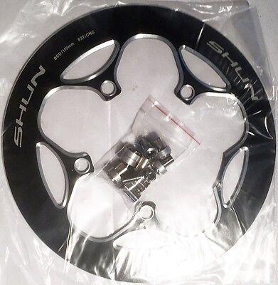 SHUN Crank Chainring Guard Bike Chain For ROAD BCD 110mm 48T COVER WHEEL