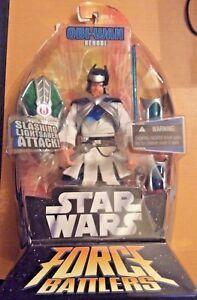 Star-Wars-Force-Battlers-ARMORED-Obi-Wan-Kenobi-6-034-Action-Figure-Ninja-2005