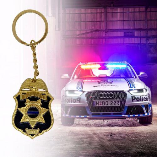 Police Badge Alloy Key chain Heavy duty
