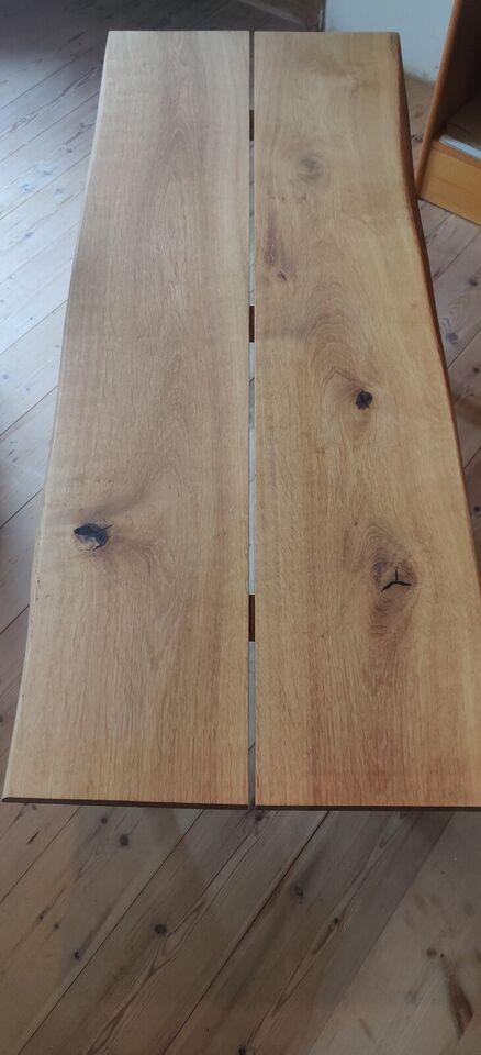 Sofabord, Snedkerlavet, egetræ