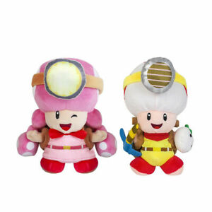 Super Mario Captain Toad and Toadette Plush Doll Stuffed ...