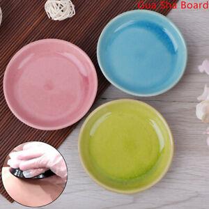 Ceramic-Guasha-Board-Disc-Plate-Body-Scrap-Plate-Acupuncture-Massage-Health-C-EP