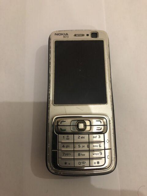 Nokia N73 - Silver (Unlocked) Smartphone