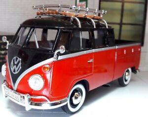 LGB 1:24 Scale VW T1 Split Screen Double Cab Model Pickup 1962 79552