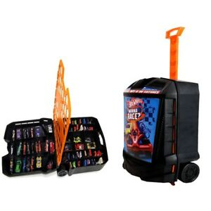 Hot-Wheels-Storage-Case-With-Retractable-Handle-100-Cars
