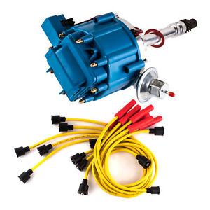 distributor chevy sbc bbc plug spark combo wires hei ignition gm08 distributors 1957 chevrolet truck