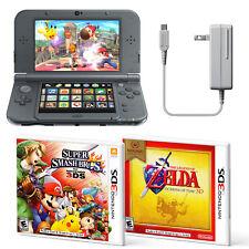 New Nintendo 3DS XL Handheld System Super Smash Bros and Zelda Ocarina Bundle