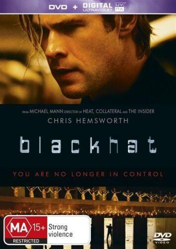 1 of 1 - Blackhat (DVD, 2015)**R4**Like New*Chris Hemsworth*