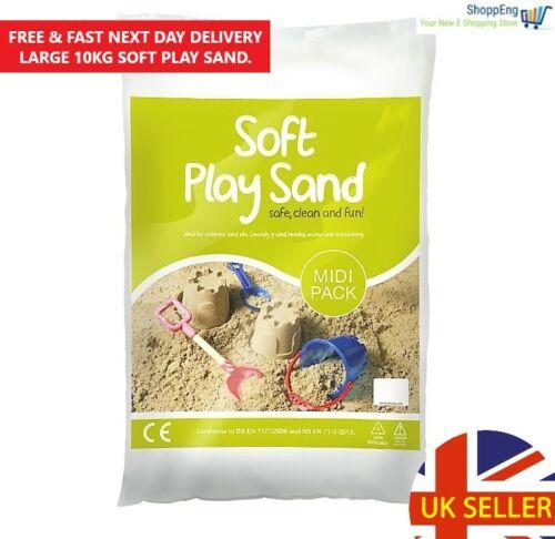 Children/'s Kids Play Sand 10Kg Sandpit//Toys//Sand Table Indoor//Outdoor UK Based