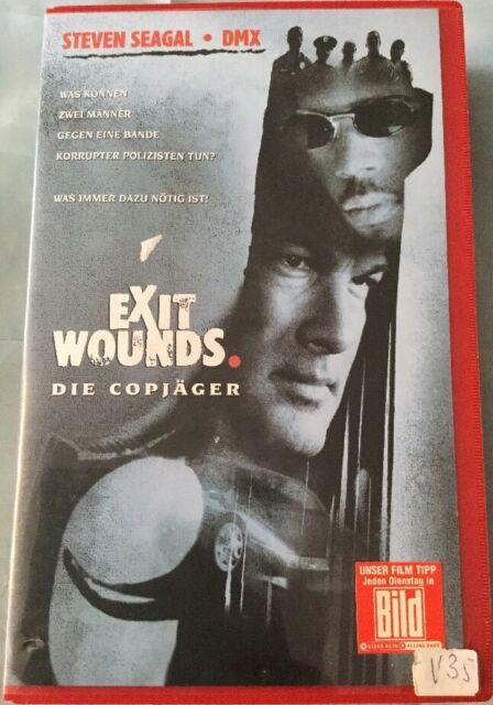 VHS Exit Wounds - Die Copjäger (2001) FSK 18 Action mit Steven Seagal & DMX