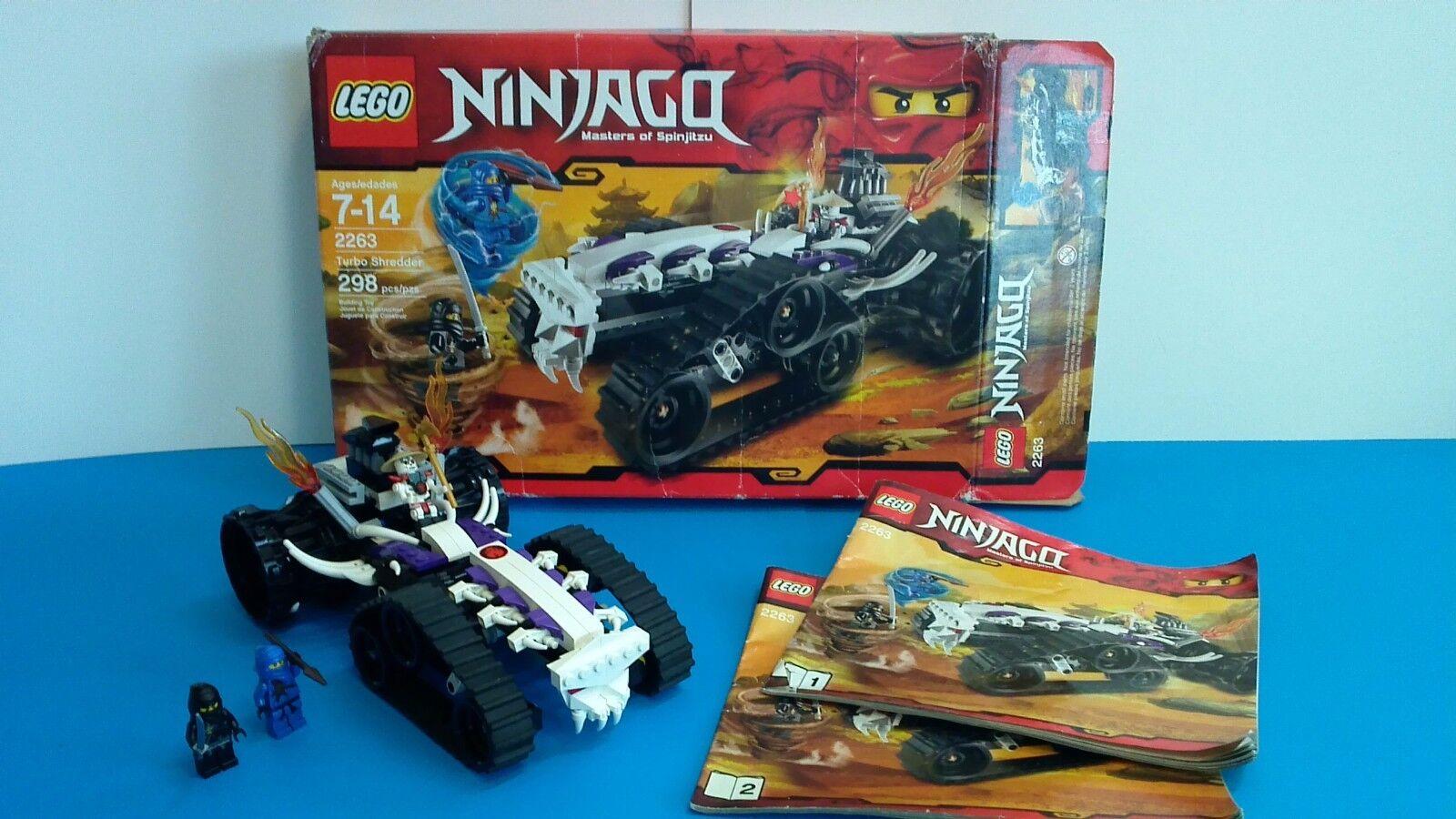 LEGO Ninjago  Turbo Shrödder 2263, 298 pcs kompletta, REIröd