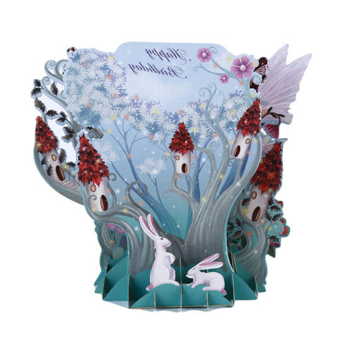 3D Laser Cut Hand Made Greeting Occasion Card Birthday Wedding Greeting Card LP