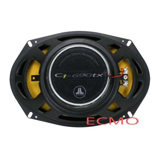 "JL Audio C1-690tx  C1 Series 6/"" x 9/"" 3-Way Coaxial Car Audio Speakers 6x9/""  New"