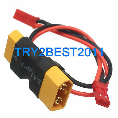 TRX Male to Female /& in-line JST male Adapter for Lipo Battery FPV for Traxxas