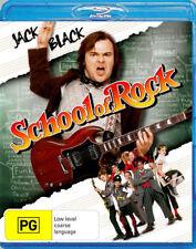 SCHOOL OF ROCK (Jack Black)  Blu Ray - Region B for UK