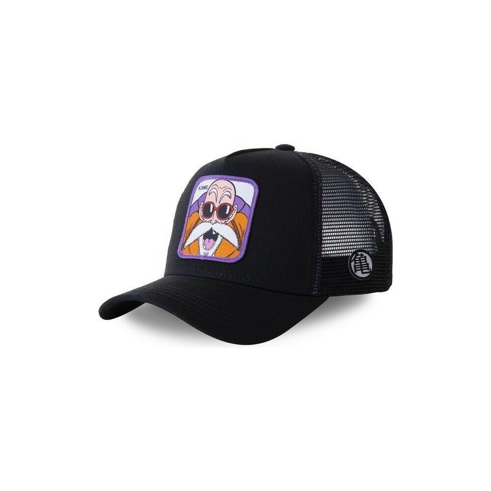 Gorra Trucker Negra Master Roshi Dragon Ball KAMC - Capslab - KAMC