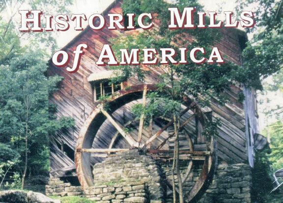 Historic Mills of America Lynda Allmond Fralish (Editor)-Free Economy USPS Mail