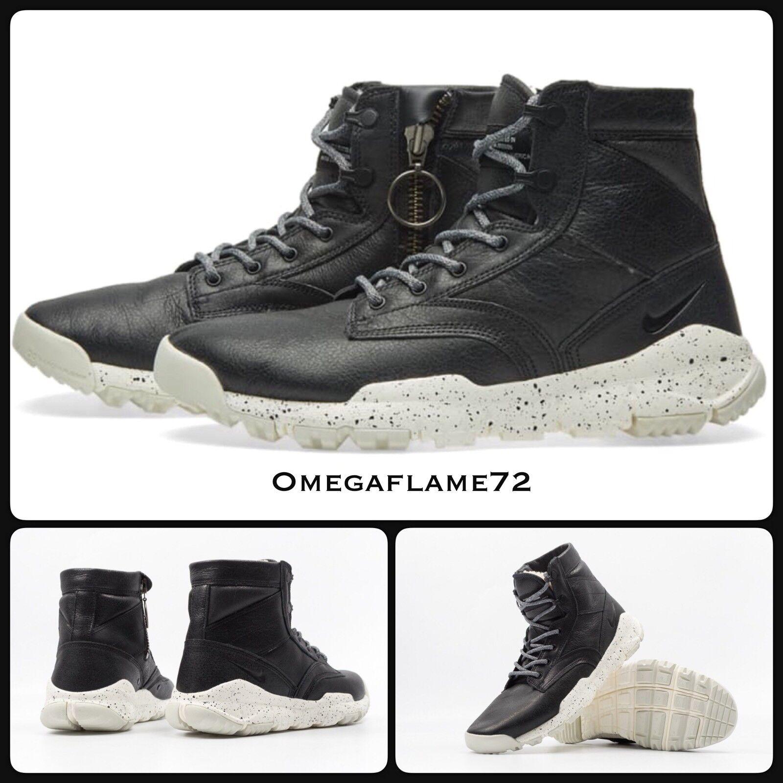 "Nike SFB 6"" NSW ""Bomber"" Noir US Leather 862506-0018.5 EU 43 US Noir 9.5 ACG 226157"
