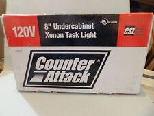 xenon task lighting under cabinet 120 volt csl counter attack 8