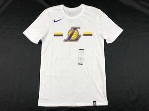 NEW-Nike-Los-Angeles-Lakers-Men-039-s-Short-Sleeve-Shirt-Multiple-Sizes