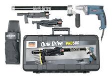 Quikdrive Prosddm25k Combo System With 120v Makita 2500 Rpm Motor
