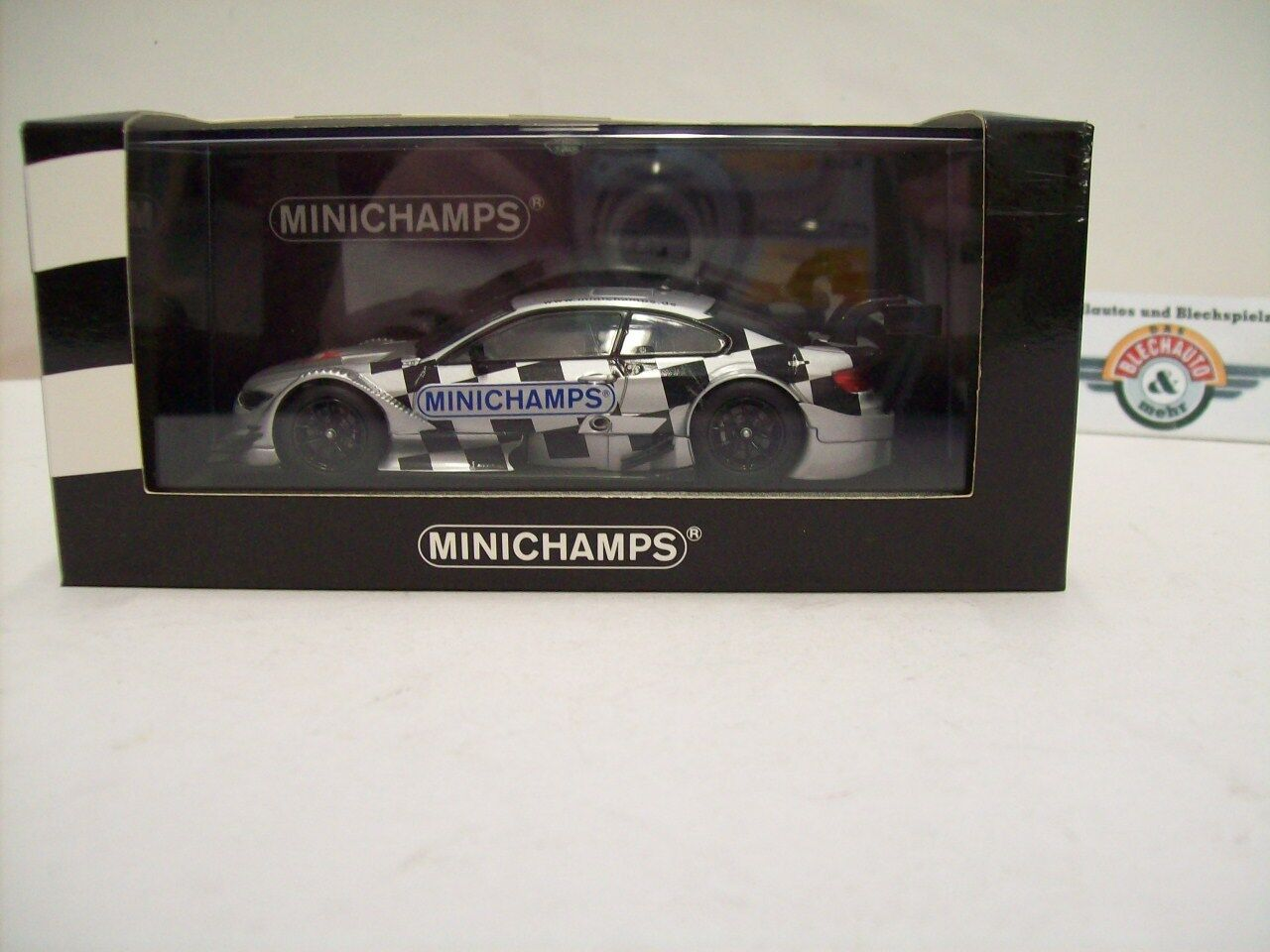 BMW m3 (e92) DTM  specialee modellololo Spielwarenmesse 2013 , Minichamps 1 43, OVP