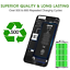 miniatura 1 - Jaan ORIGINALE per Interno Batteria di ricambio per Apple iPhone 6 6S 7 Plus