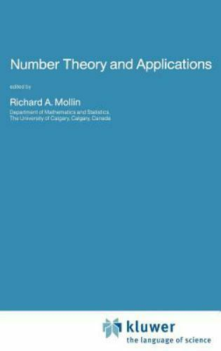 Nato Science Series C: Number Theory and Applications 265 (1989, Hardcover)