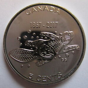 2017 Canada 5 Cents 1867 2017 150th Anniversary Of Canada Proof Like Coin Ebay