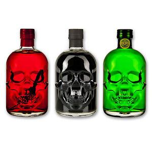Absinthe-Totenkopf-Set-Antitoxin-89-9-Black-Head-55-Red-Chili-Head-55