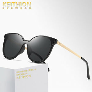 aa28fce98b Image is loading KEITHION-Polarized-Sunglasses-Women-Retro-Vintage-Glasses- Cat-
