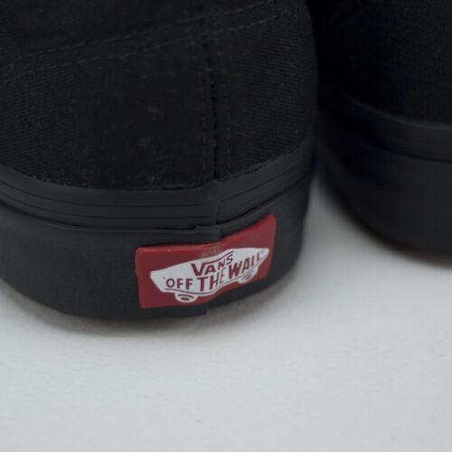 Tamaños 3 Uk 9 Black 8 7 5 New Vans black Brand 6 Black Trainers Authentic 10 In 4 11 12 qWSwz8g4