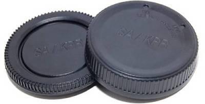 und Rück Deckel für Kamera-Gehäuse /& Objektiv Micro FourThirds Front