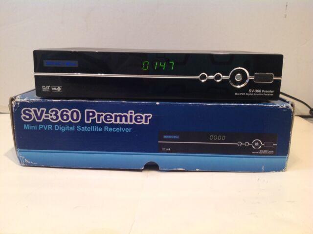 Sonicview 360 Premier Satellite receiver