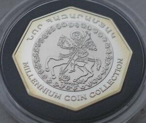 Armenia-2000-drams-millennium-Silver