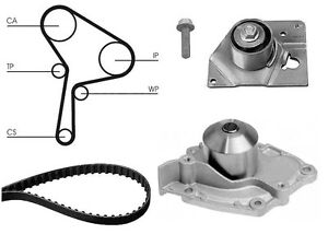 water pump and timing cam belt kit replacement for mitsubishi rh ebay co uk