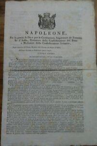 1812-NAPOLEONICA-ECCEZIONALE-STATUTO-DELLA-NAVIGAZIONE-E-DEI-CORSARI