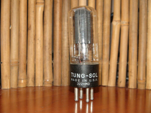 Sporting Vintage Tung Sol #80 Stereo Tube Results 71/65 #9625