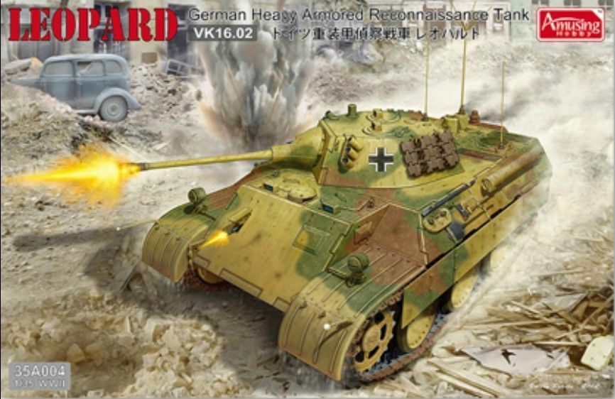 Amusing Hobby 1 35 35A004 German Leopard VK16.02