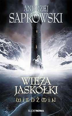 Andrzej Sapkowski WIEDZMIN WIEZA JASKOLKI tom 4 the WITCHER fantasy *JBook