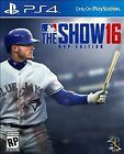 MLB: The Show 16 -- MVP Edition (Sony PlayStation 4, 2016)