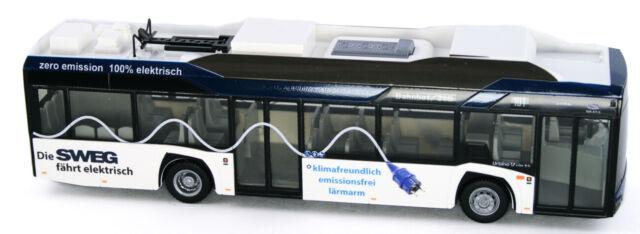1//87 Rietze Solaris Urbino Electric 12 14 SWEG 73030