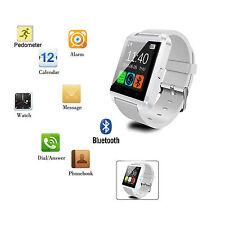 Bluetooth Smart Wrist Watch For Samsung Galaxy S6 Edge S5 S4 S3 Note 5 4 3 LG G3