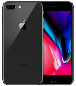 APPLE IPHONE 8 PLUS 256 GB Space Grey Nero Grado A+ Usato Ricondizionato