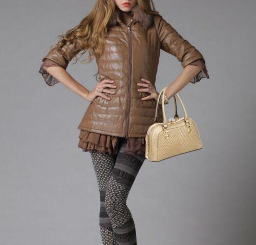 Mujeres Diseñador Imitación de cuero bolso de patente Diamante Broche De Hombro Bolsa de acarreo Reino Unido