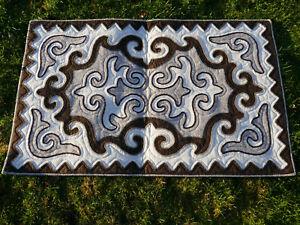 1-40-x-0-85m-Filz-Teppich-Shirdak-Schirdak-Shyrdak-Kyrgyzistan-tappeto-rug-Kilim