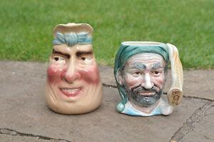 Toby-jug-Face-Mug-Majolica-Sarreguemines-pattern-3181-FREE-POSTAGE
