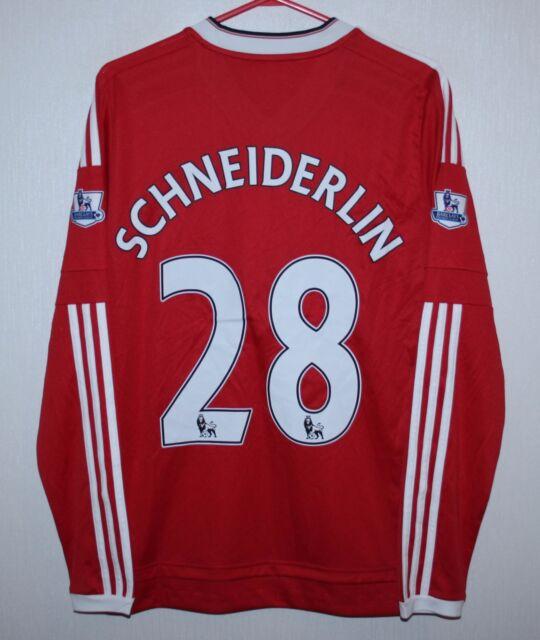 6ee7bd92b Manchester United England home shirt 15 16  28 Schneiderlin Adidas BNWT KIDS  XL