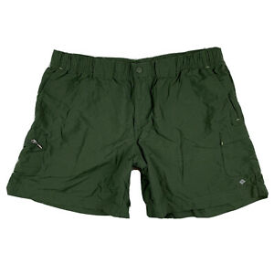Columbia-Women-039-s-M-Medium-6L-Shorts-Performance-Fishing-Hiking-Gear-Pocket-Green